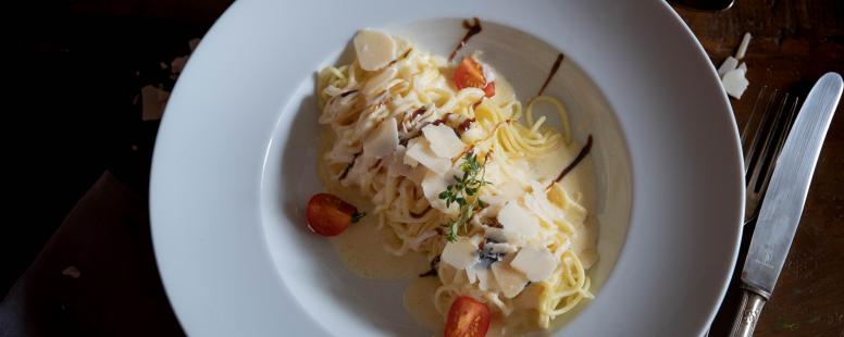 Gretas Lieblings Pasta mit Parmesansoße