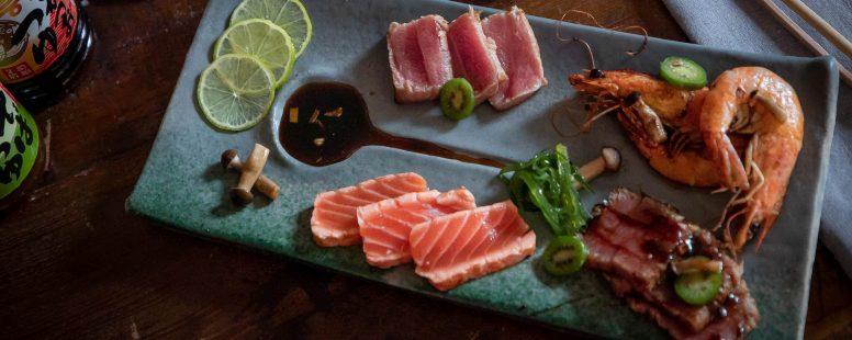 Traumhaftes Sashimi mit einer sanft, vollmundigen Marinade